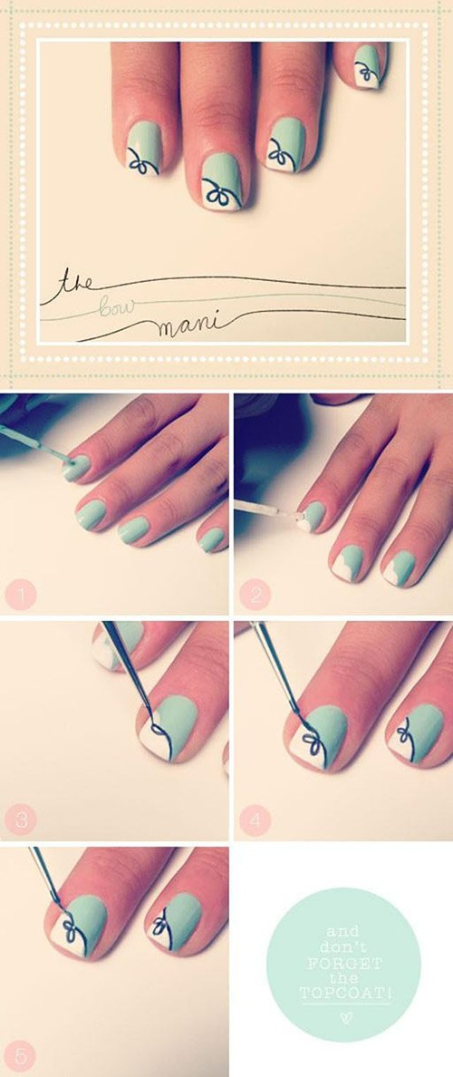Bow Manicure