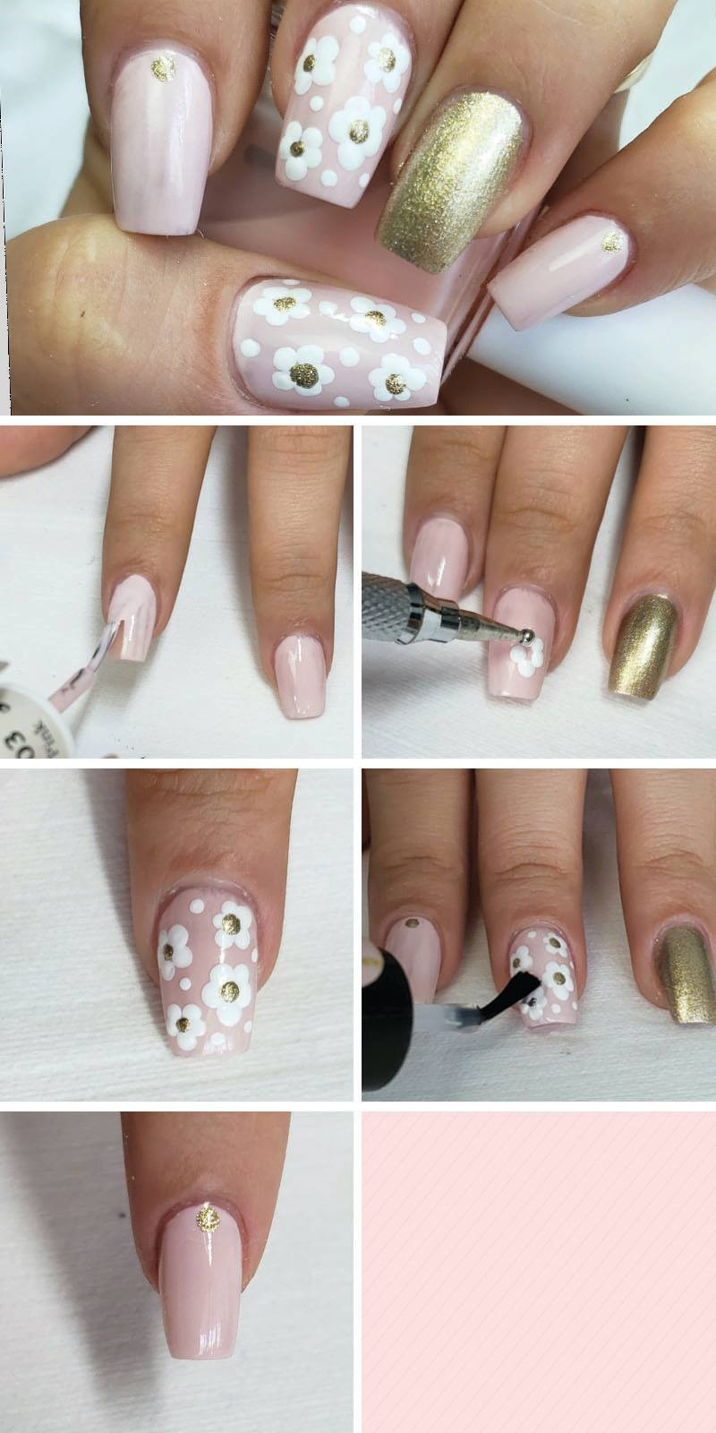 How To Do Nail Art 6 Easy Tutorials To Do At Home All Nail Art