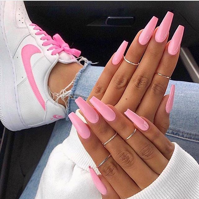Ballerina Nails, Different Nail Shapes
