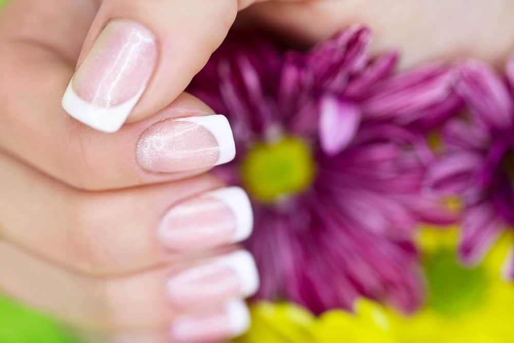 french manicure nail art 2019