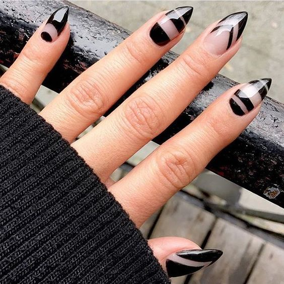 Negative, Black nails