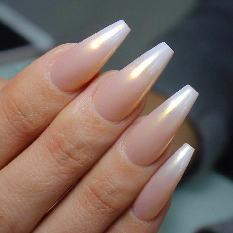 Chrome  French Ombré Nails