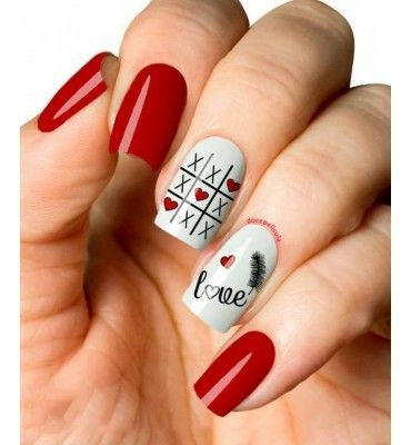 The Message Nail Art