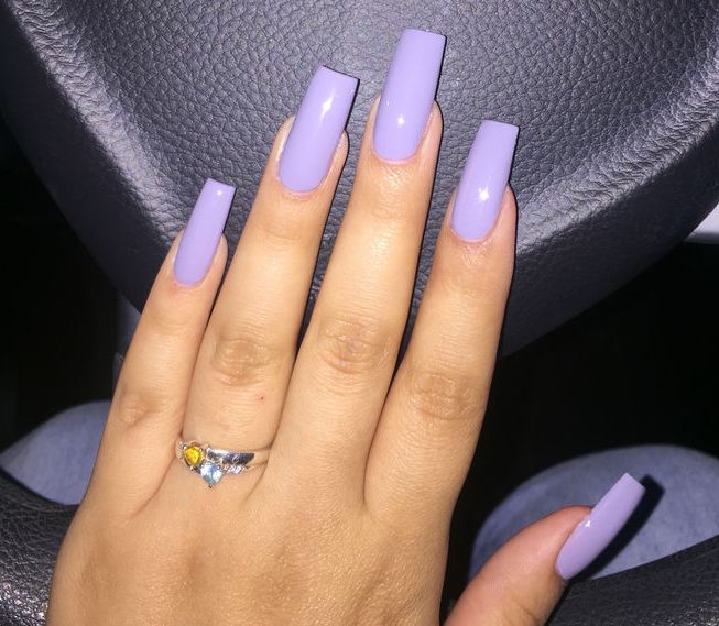 23 Square Nail Ideas and Tips on How to Rock Them - All ...