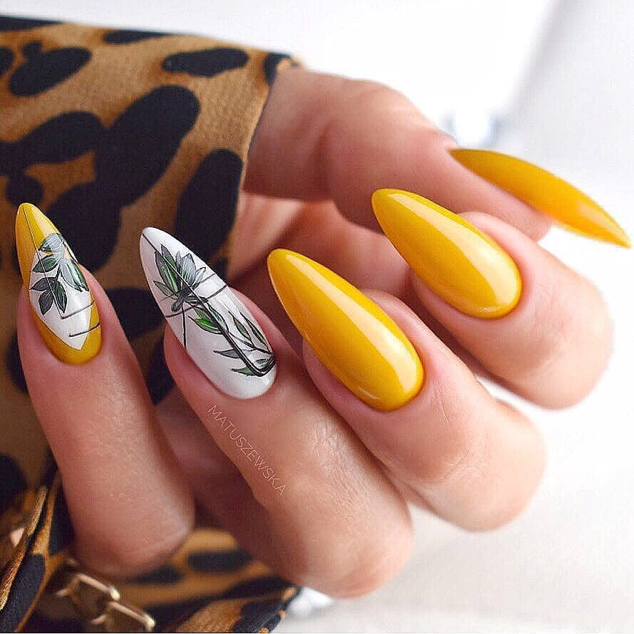 Nature - Yellow Nails