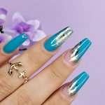 2019 Nail Art, nail art 2019, Blue Nail Design