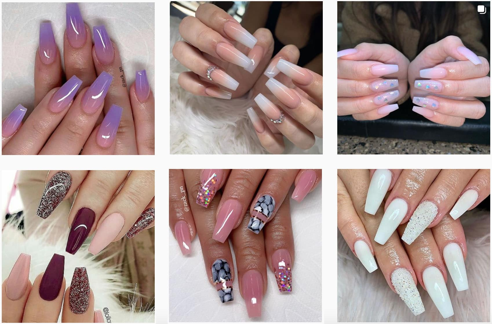 Pictures of Coffin  Nails