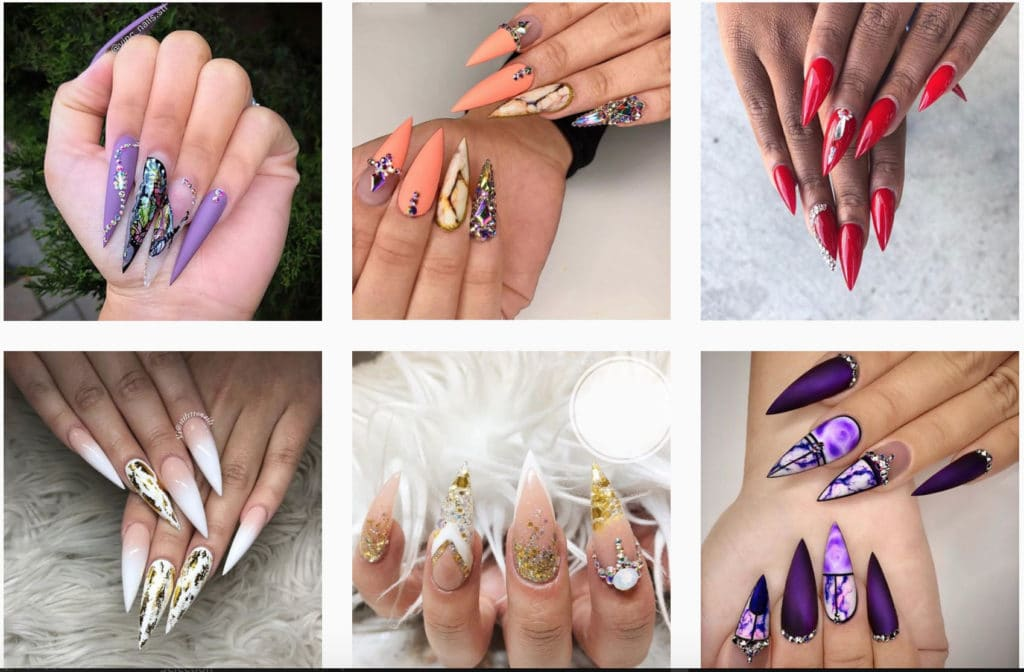 Acrylic Nails Gallery