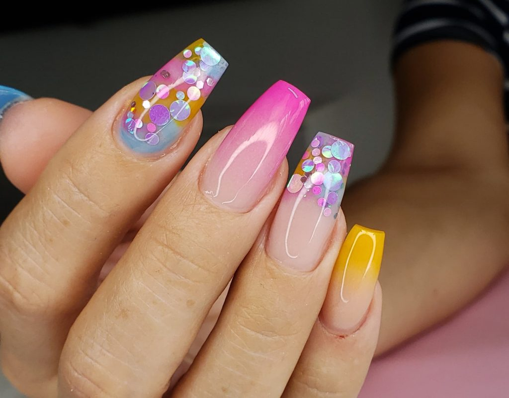 desired nail art styles